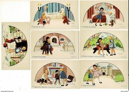 KL G 380 -  J Gouppy - Sept Oeuvres De Miséricorde - Zeven Werken Van Barmhartigheid - - Imágenes Religiosas