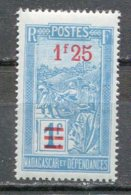 MAD - Yt. N° 151  *  1f25 S 1f  Cote  0,9  Euro  BE  2 Scans - Ungebraucht