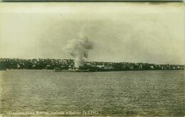 LIBAN / LEBANON - BEIRUT / BEYROUTH - BOMBING OF ITALIAN NAVY - 24 FEB. 1912 - RARE  ( BG 8716) - Libanon