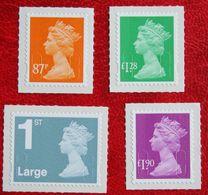Machin QE II Definitives  (Mi 3249-3252) 2006 POSTFRIS MNH ** ENGLAND GRANDE-BRETAGNE GB GREAT BRITAIN - Nuovi