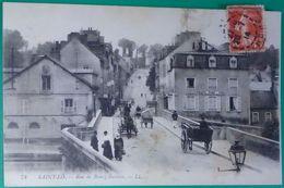 50 Manche CPA Saint St Lo 1914 Rue De Bourg Buisson - Saint Lo