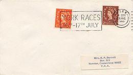 GRAN BRETAGNA - YORK RACES 1965 - Horses