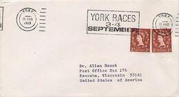 GRAN BRETAGNA - YORK RACES 1969 - Horses