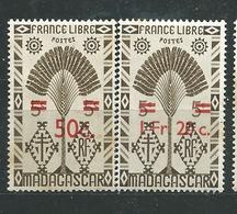 MADAGASCAR N° 290+293 ** Rousseurs Au Verso Sinon TB 7 - Ungebraucht