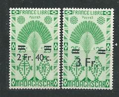 MADAGASCAR N° 294/95 **  TB 2 - Ungebraucht