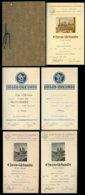 WW II Mappe 24,5 X 16,5 Cm: 5 Urkunden , Schwimmen ,Bremen 1937 - 1939 ,selten! - Germany