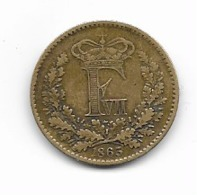 Pièce Danoise De 1863  - 1 Skilling - Dänemark