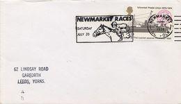 GRAN BRETAGNA - NEWMARKET RACES 1974 - Horses