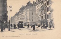 CPA - Genève - Rue De La Croix D'Or - GE Genève