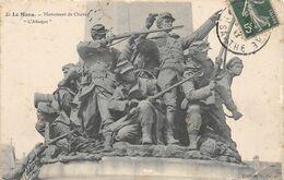 B20-388-LE MANS-MONUMENT DE CHANZY-L'ATTAQUE-GUERRE DE 70-1870 - Le Mans