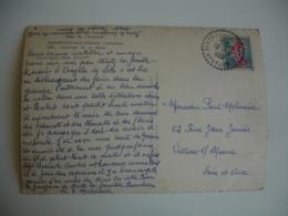 Florentin La Capelle Aveyron  Facteur Boitier Obliteration Sur Lettre - Storia Postale