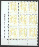 Coin Daté N° 4763 Y.T. Marianne Et La Jeunesse 0.01€ Type Ciappa Et Kavena Date: 04.02.14 - 2010-....