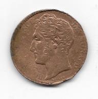 Pièce Monégasque De 1837  - 5 Centimes - Monaco
