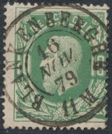 """émission 1869 - N°30 Obl Double Cercle """"Blanckenberghe"""". Concours / Collection Spécialisée - 1869-1883 Leopoldo II"""