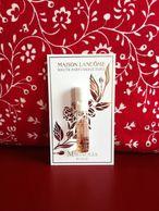 Lancôme - Les Grands Crus, Magnolia Rosae - échantillon Sur Très Belle Carte De Collection - Perfume Samples (testers)
