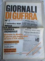 - GIORNALI DI GUERRA N 1 CON POSTER / WALKOVER EDITORE - Guerre 1939-45