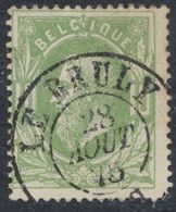 """émission 1869 - N°30 Obl Double Cercle """"Le Bruly"""". Superbe ! / COBA : 15. Collection Spécialisée - 1869-1883 Léopold II"""