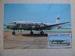 TAI   DC 6     /  CARTE POLYNESIENNE  IMPRIMEE A TAHITI - 1946-....: Ere Moderne
