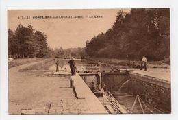 - CPA CONFLANS-SUR-LOING (45) - Le Canal 1941 - Edition Houzé 427-5-33 - - Autres Communes