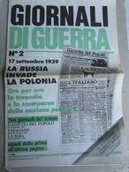 - GIORNALI DI GUERRA N 2 CON POSTER / WALKOVER EDITORE - Guerre 1939-45