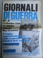 """- GIORNALI DI GUERRA N 4 CON POSTER """" SOUTHAMPTON"""" / RIVISTA MODELLA / WALKOVER EDITORE - Guerre 1939-45"""