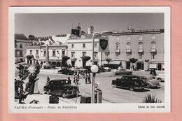 OLD POSTCARD -  PORTUGAL - TAVIRA - AUTO - ANIMATED - Faro