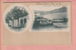 OLD  POSTCARD -  CAPE VERDE - S. VINCENT - MESSRS WILSON & CO - OFFICES - Capo Verde