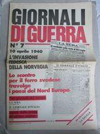 - GIORNALI DI GUERRA N 7 CON POSTER FIAT BALILLA   / WALKOVER EDITORE - Guerre 1939-45
