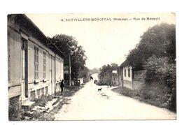 Sauvillers Mongival. Rue De Moreuil. - Otros Municipios