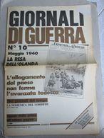 - GIORNALI DI GUERRA N 10 CON POSTER ALA LITTORIA  / WALKOVER EDITORE - Guerre 1939-45