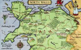 E 1236 - Angleterre      Carte Du     North Wales - Autres