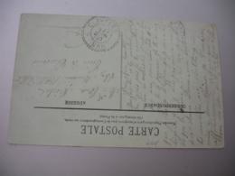 Clavieres Var Facteur Boitier Cachet Perle Obliteratoion Lettre - Storia Postale