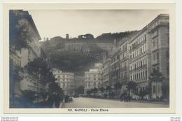 AK  Napoli Neapel Viale Elena - Napoli