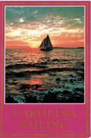 Schooner Sailing Off North & South Carolina Coasts - Unused - Etats-Unis