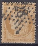 FRANCE : CERES DU SIEGE 10c BISTRE N° 36 OBLITERATION ETOILE DE PARIS 28 - 1870 Siège De Paris