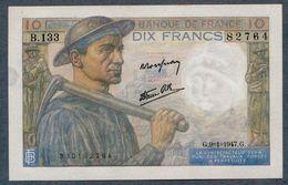 10 Francs 9=1=1947   SUP - 1871-1952 Antichi Franchi Circolanti Nel XX Secolo