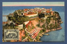 Monaco - Carte Maximum - Le Rocher - 1947 - Cartoline Maximum