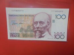 BELGIQUE 100 FRANCS 1978-84 CIRCULER (B.18) - 100 Franchi