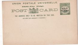 FIDJI    ENTIER POSTAL/GANZSACHE/POSTAL STATIONARY CARTE - Fiji (...-1970)