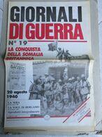 - GIORNALI DI GUERRA N 19 CON QUOTIDIANO / SENZA CARTOLINE  / WALKOVER EDITORE - Guerre 1939-45