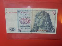 B.R.D 10 MARK 1980 CIRCULER (B.18) - [ 7] 1949-… : RFD - Rep. Fed. Duitsland