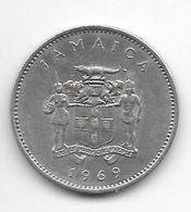 *jamaica 10 Cents 1969 Km 47  Unc - Jamaica