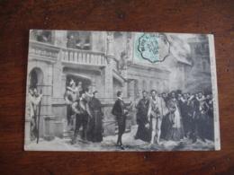 Blois A Orleans  Cachet Ambulant Convoyeur Poste Ferroviaire Sur Lettre - Storia Postale