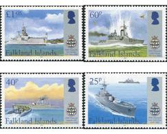 Ref. 629611 * MNH * - FALKLAND Islands. 2007. WARSHIPS . BARCOS DE GUERRA - Falkland