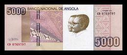 Angola 5000 Kwanzas 2012 Pick 158a SC UNC - Angola