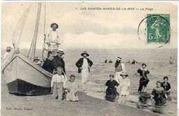 LES SAINTES MARIES DE LA MER - La Plage        (2125 ASO) - Saintes Maries De La Mer