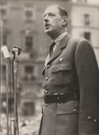 M3-76) ROUEN (AUTHENTIQUE PHOTO 18 X 13) VISITE DU GENERAL  DE GAULLE  - OCTOBRE 1944 - (N° 11  - 2 SCANS) - Rouen