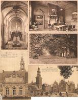 Postel : Abdij En Kerk --- 5 Kaarten - Mol