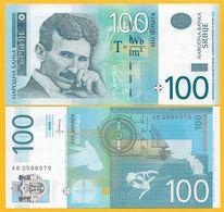 Serbia 100 Dinara P-57b 2013 UNC Banknote - Serbia