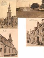 Postel : Abdij En Kerk --- 4 Kaarten - Mol
